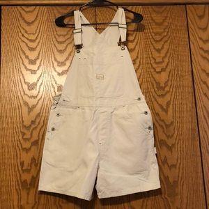 Old Navy Light Tan / Beige Overalls
